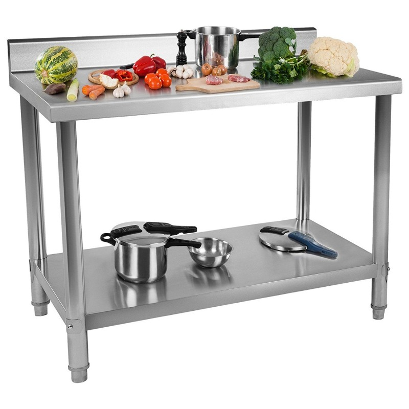 table plonge inox