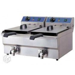 friteuse 2x 10litres
