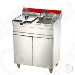 friteuse double 2X16 litres