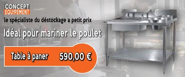 Concept Equipement , l'équipement cuisine professionnelle à petits prix